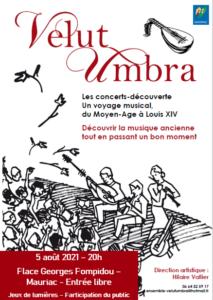 Concert de Velut Umbra à Mauriac